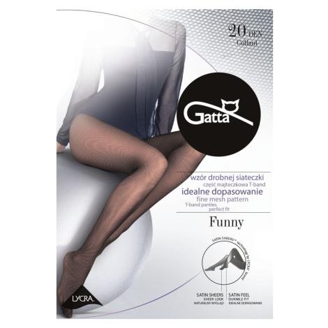 Punčochy Gatta Funny 20 DEN Černá