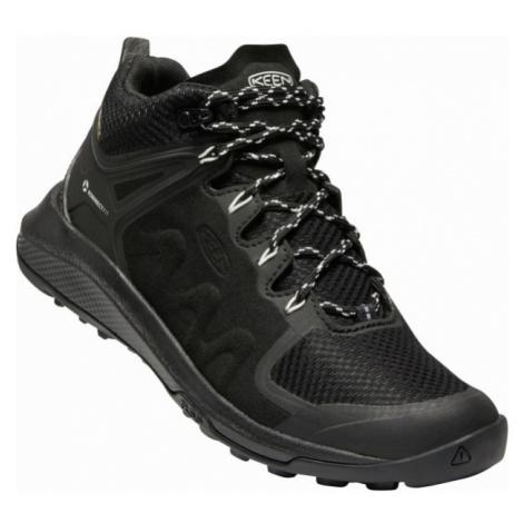 KEEN EXPLORE MID WP W Dámská vysoká treková obuv 10008806KEN01 black/star white