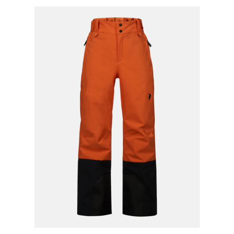 Kalhoty Peak Performance Jr Rider Pants - Oranžová