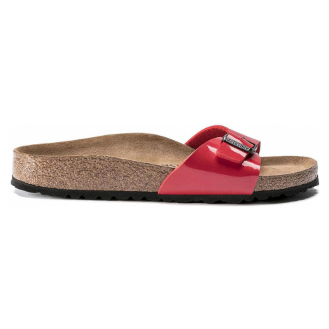 Birkenstock Madrid BF Patent Cherry Narrow Fit červené 1019460