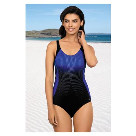 Self Jednodílné sportovní plavky Anika tmavě modré