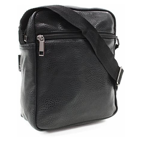 Černý malý pánský zipový crossbag Emmett