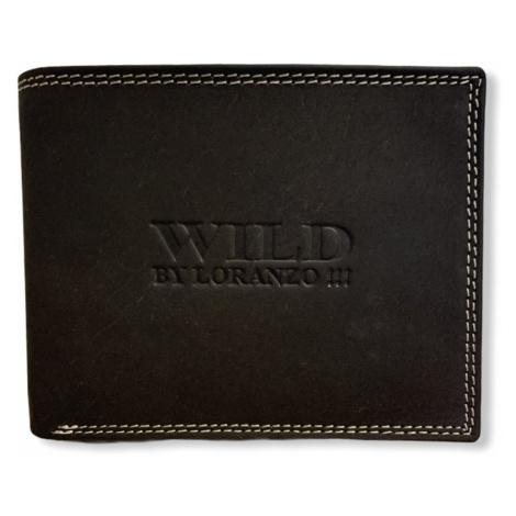 Pánská peněženka Wild Loranzo Brown, tmavě hnědá