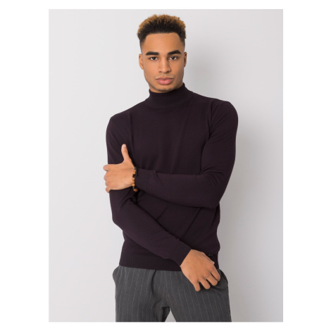 LIWALI men´s dark purple turtleneck Fashionhunters