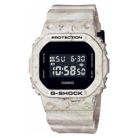 "Casio G-Shock DW 5600WM-5ER ""Utility Wavy Marble Series"" krémové"