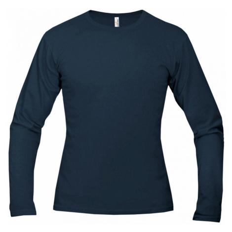 Tričko pánské AF long dlouhé - Námořní modř