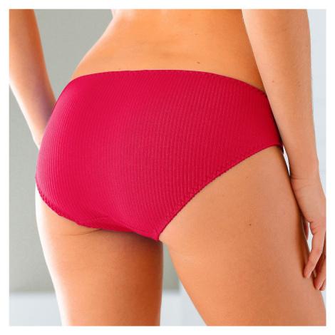 Blancheporte Mini kalhotky s plochými švy, sada 6 ks tmavé barvy