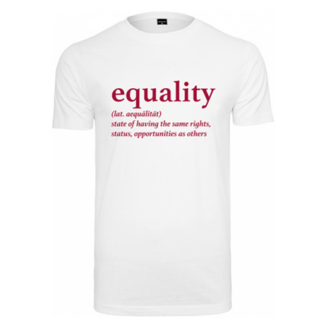 Mr. Tee Equality Definition Tee white