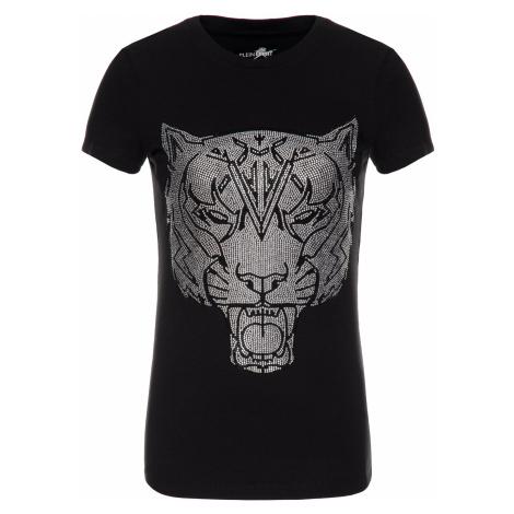 Černé slim fit tričko - PHILIPP PLEIN