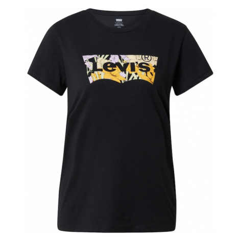 LEVI'S Tričko černá / hořčicová / pastelově zelená / starobéžová / pastelová fialová Levi´s