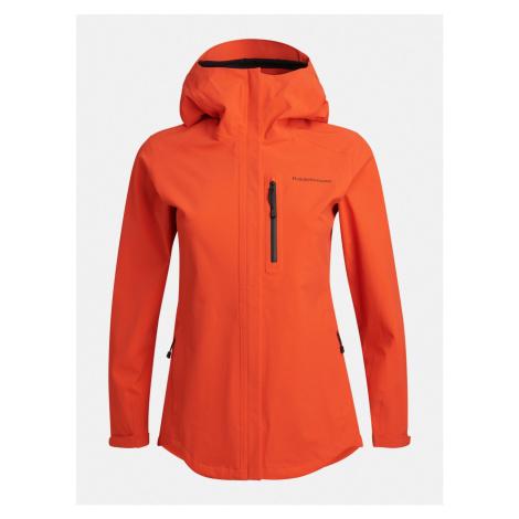 Bunda Peak Performance W Xenon Jacket - Červená