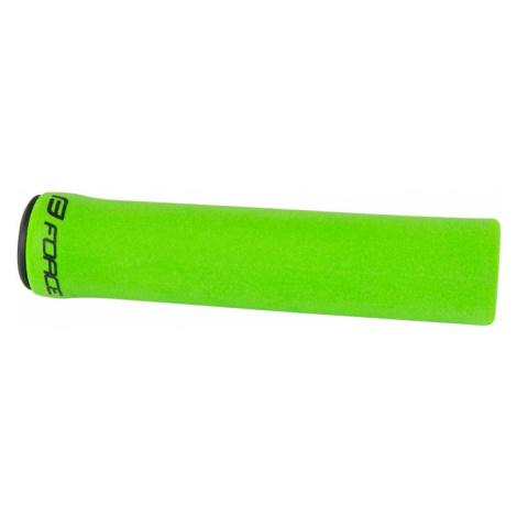 Silikonové gripy Force Luck fluo zelené