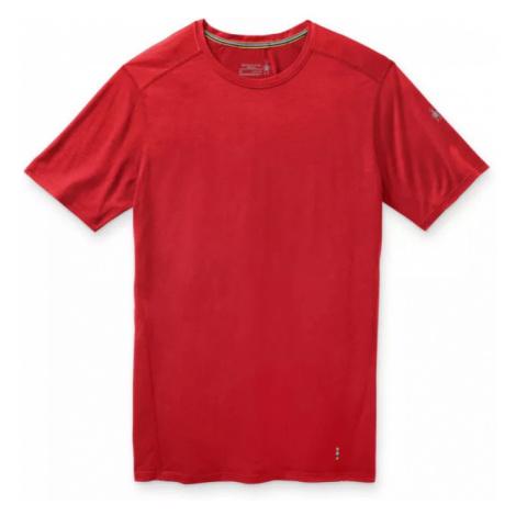 Pánské tričko Smartwool M Merino 150 Baselayer SS cardinal red