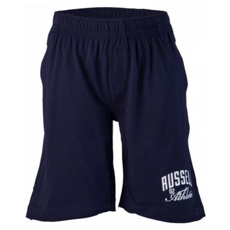 Russell Athletic CHLAPECKÉ ŠORTKY CLASSIC tmavě modrá - Chlapecké šortky