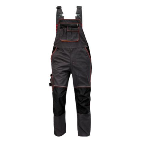 KNOXFIELD kalhoty la antracit/červená Červa