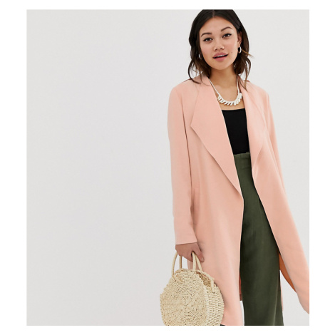 Miss Selfridge duster coat in pink-Yellow