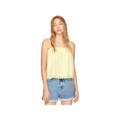 Pepe jeans PL303720 Žlutá