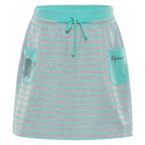 ALPINE PRO IMAGO Dětská sukně KSKN047547PB Cockatoo