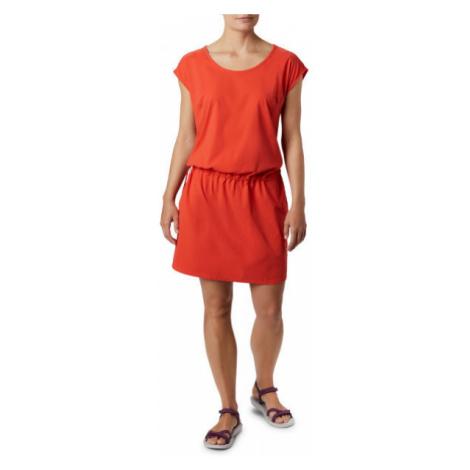 Columbia PEAK TO POINT II DRESS červená - Dámské sportovní šaty