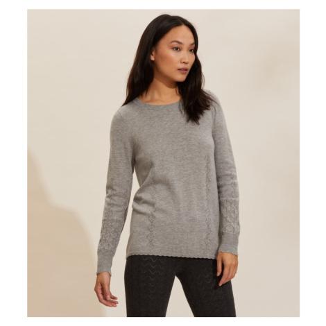 Svetr Odd Molly Simone Sweater - Šedá