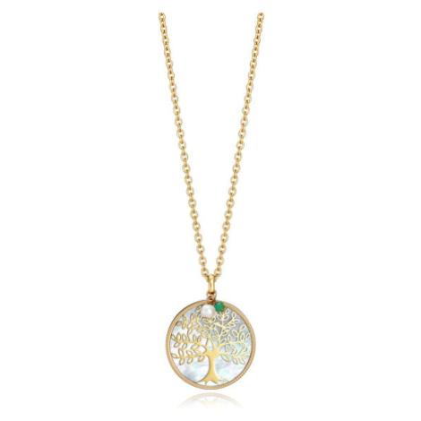 Viceroy Pozlacený náhrdelník se stromem života Popular 15064C01012