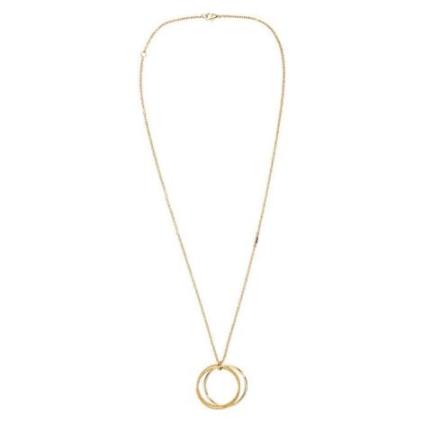 Tommy Hilfiger Pozlacený náhrdelník s přívěskem TH2700562