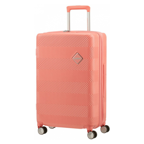 American Tourister Cestovní kufr Flylife Spinner EXP 81G 70/81 l - oranžová
