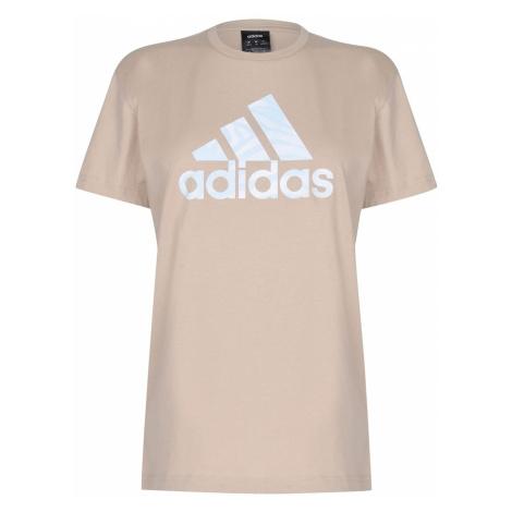 Adidas Zebra Logo T Shirt Womens