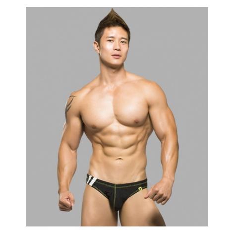 ANDREW CHRISTIAN pánské slipové plavky černé Team Bikini