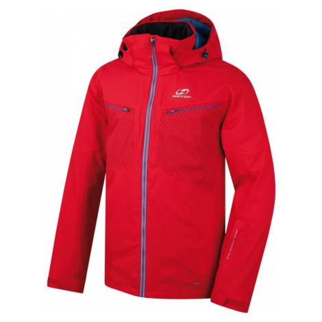 HANNAH GOETZ Pánská lyžařská bunda 217HH0002HJ04 Fiery red