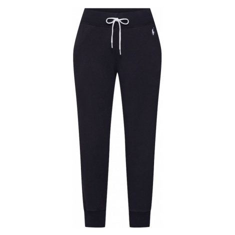 POLO RALPH LAUREN Kalhoty 'PO SWEATPANT-ANKLE PANT' černá