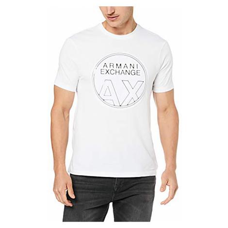 Pánské tričko (kulaté logo) Armani Exchange