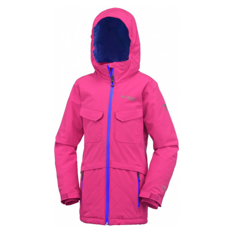 Bunda Columbia EmPOWder™ Jacket Y - růžová