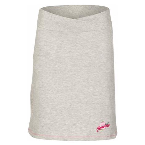 ALPINE PRO MANIQUA 2 Dámská sukně LSKL097773PA šedá