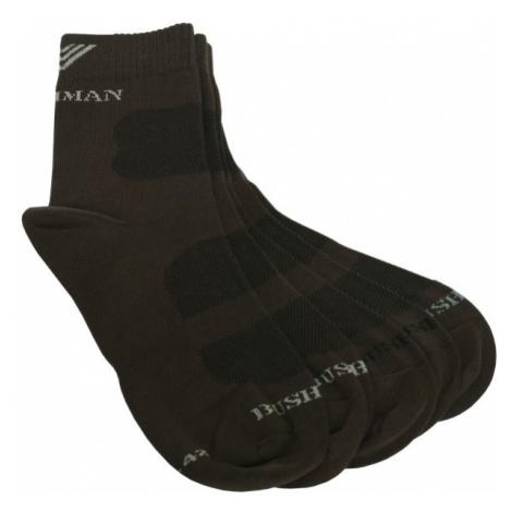 Ponožky BUSHMAN PROST SET 2,5 hnědá