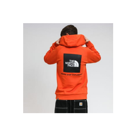 The North Face M Raglan Red Box HD oranžová