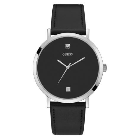 Guess pánské černé hodinky