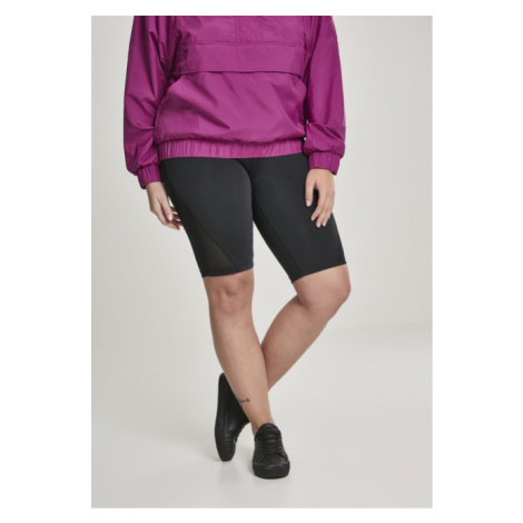Urban Classics Ladies Tech Mesh Cycle Shorts black