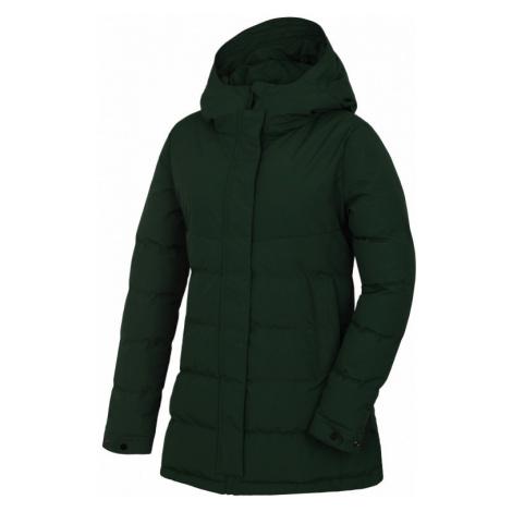 Dámský kabát HUSKY Nilit L tmavě zelená