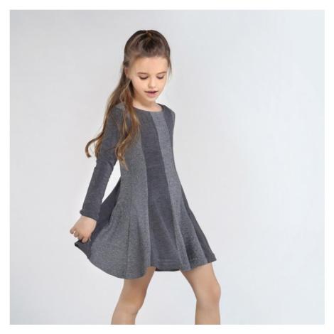 Dívčí šaty Mayoral 7957 | šedá