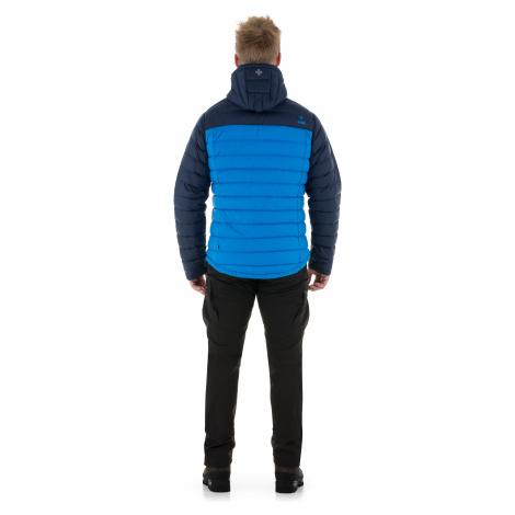 Pánská zimní péřová bunda KILPI PYRAMIDEN-M modrá