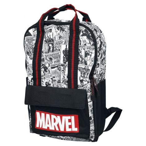 Marvel Comic Characters Batoh cerná/cervená/bílá