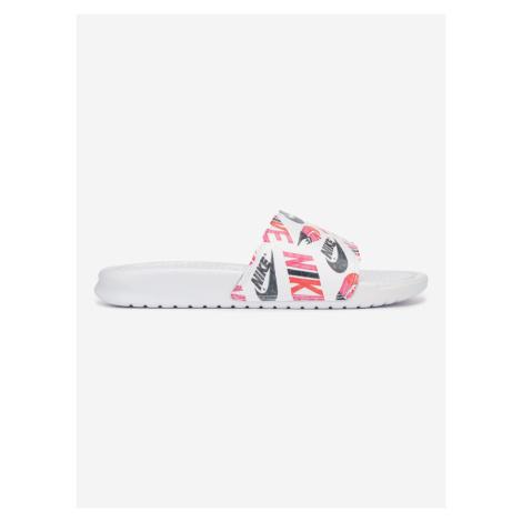 Benassi JDI Pantofle Nike Bílá