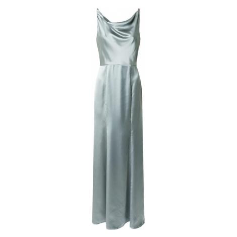 Chi Chi London Šaty 'Julianna' khaki / světle zelená