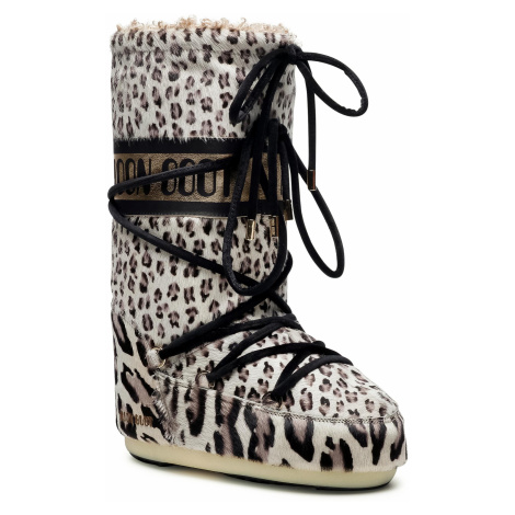 Sněhule MOON BOOT - Animal 14026200001 Giraffe Print