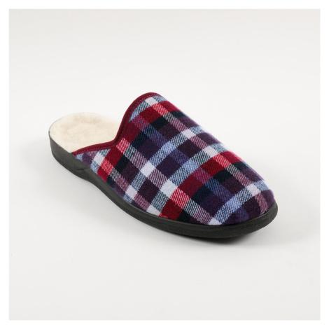 Blancheporte Domácí pantofle Jeva bordó
