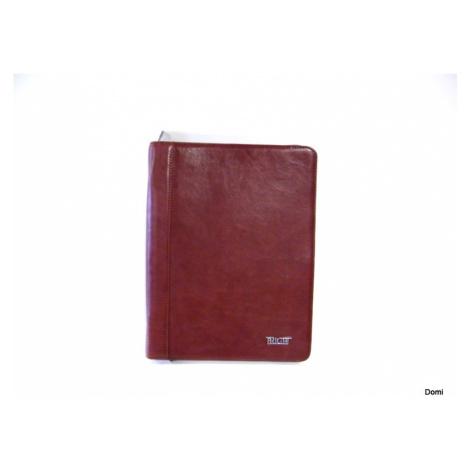 BRIGHT Spisovka formát A4 desky kožené hnědá, 25 x 3 x 32 (BR14-BV620001-03KUZ)