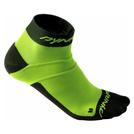 Běžecké ponožky Dynafit Vertical Mesh Footie Fluo Yellow