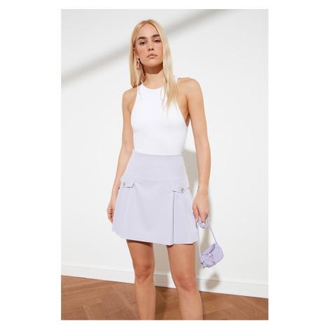 Trendyol Lila Pocket Detailed Skirt