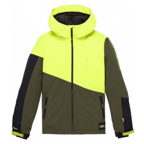 O'Neill PB MAGNATITE JACKET zelená - Chlapecká snowboardová/lyžařská bunda